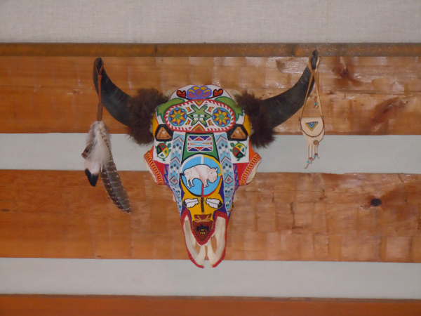 Beaded Buffalo Head 2