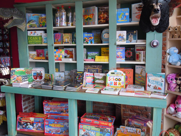 Beautiful books and toys