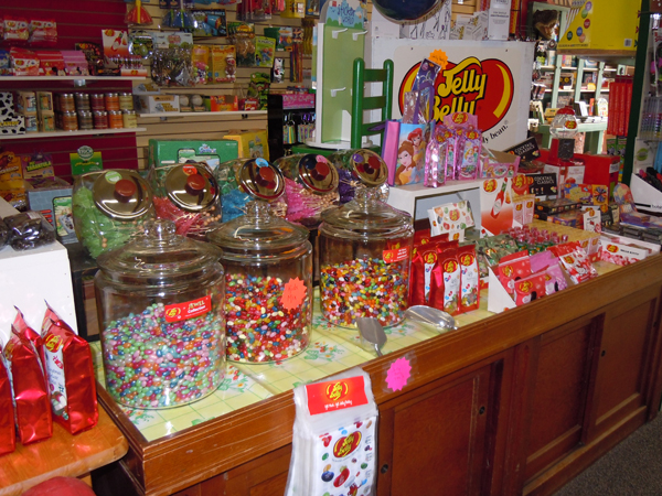 Plus beautiful chocolates, fudge, fresh licorice and many holiday specialties
