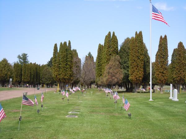 Oak Grove Cemetery, Webster, WI