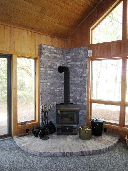 Meadow Green Wood Stove