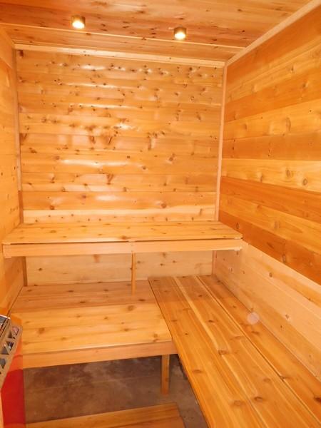 Gull Lake sauna