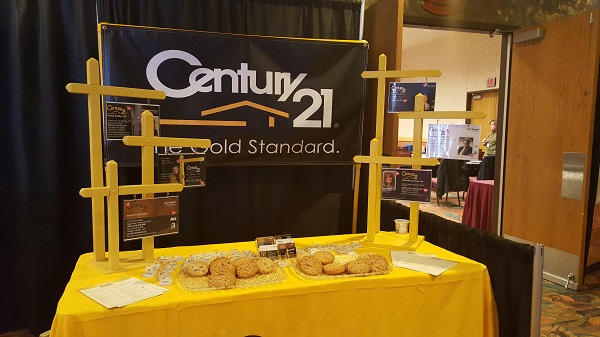 C21 booth