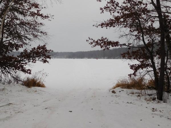 Burlingame Lake landing
