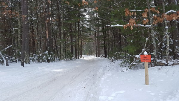 The trails are open!