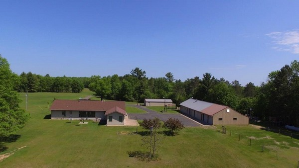 Aerial view of C21 property in Wisconsin