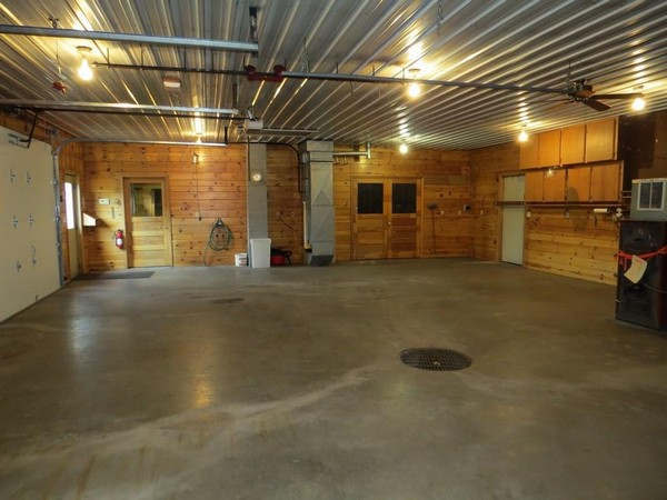 Interior of C21 garage property in Webster, WI
